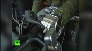 Боен робот-аватар беше демонстриран пред Владимир Путин