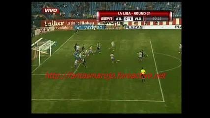 01.02 Атлетико Мадрид - Валядоли 1:2 Луис Прието Гол
