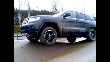 Jeep Grand Cherokee 2011 - Qudra Trac Ii