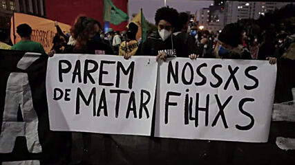 Brazil: Sao Paulo protest slams police brutality, racial discrimination after Rio favela raid