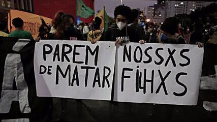 Brazil: Sao Paulo protest slams police brutality, racial discrimination after Rio favela raid