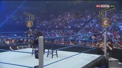 Wwe Smackdown Крисчън срещу Долф Зиглър