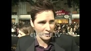 Peter Facinelli: These are action - packed films - at the Twilight Saga New Moon Premiere