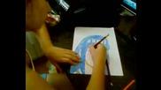 Как да нарисуваме Хината Хюга