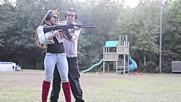Ak-47 Slide fire Megan first time