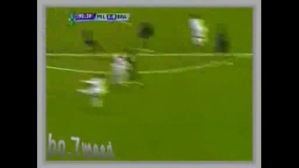 Ac Milan Vs Braga Sporting 1:0 Ronaldinho