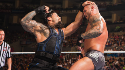 Roman Reigns vs. Randy Orton: SummerSlam 2014