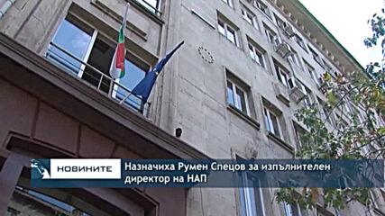 Назначиха Румен Спецов за изпълнителен директор на НАП
