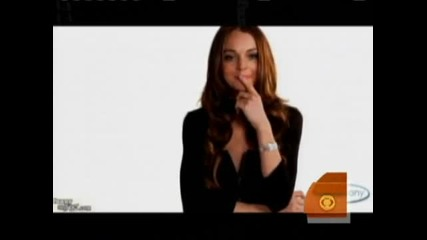 Lindsay Lohan Spoofs Herself
