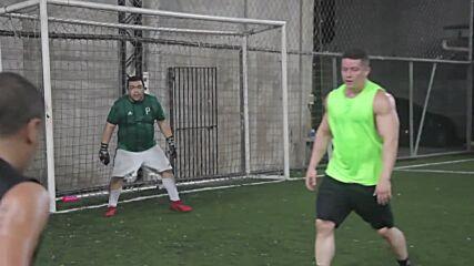 Brazil: Amateur goalie racks up steady online following through posting of heroic saves