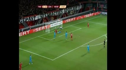 Лига Европа, 10.3.2011, 1/8 Финал, Твенте 3 - 0 Зенит