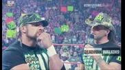 Dx говорят за предстоящия мач срещу Legacy на Hell in a cell | Raw | 21.9.2009 | High Quality