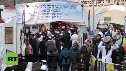 Ukraine: Hasidic Jews gather in Uman for Rosh Hashanah