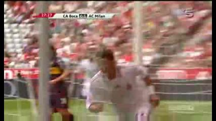 30.07 Милан - Бока Хуниорс 1:1 Тиаго Силва гол ! Audi cup