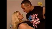 Скалата целува Триш Стратърс