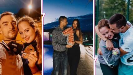 Eдна година чиста любов: Златните Християна Тодорова и Димитър Кузманов за това да си обичан