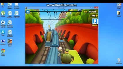 Subway Surfers ( част 1 )