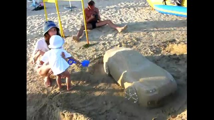 Bmw Пясъчен модел