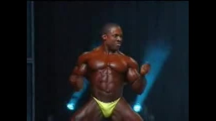Melvin Anthony Mr. Olympia 2006 Possing
