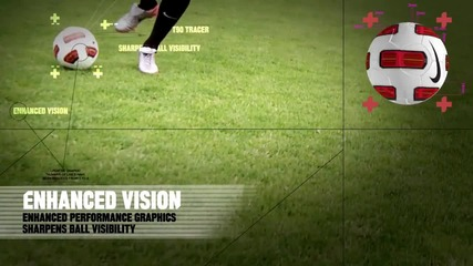Nike T90 Tracer Football Ball - Season 2010/2011 Epl, Seria A, Primera Division