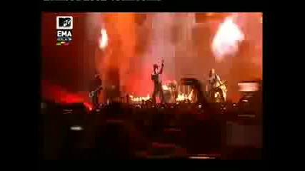 Тokio Hotel Mtv Ema 2009 - world behind my wall live