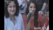 Маите Перони пее акапелно Como la flor