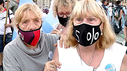 Argentina: Retirees rally in Buenos Aires to demand pension increase