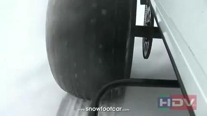 Ненормална руска машина на сняг !