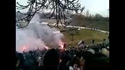 Levski Sf - minior pk 07.03.2010[ stadion slavia ] Sektor B fakli