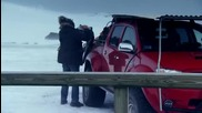 Top Gear - Джип срещу Вулкан...