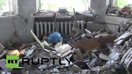 Ukraine: OSCE investigate shelling in Donetsk village of Putilovka
