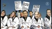 Свят: Бедност Румъния, Камерън, Замърсено мляко, Апек, Протести Г - 20, Бум Азербайджан