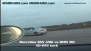 Hd: Mercedes S65 Amg vs Bmw M6