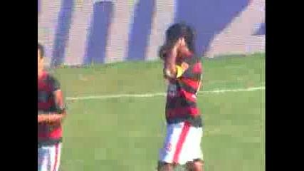 Ronaldinho first goal for flamengo 3:2 boavija rj