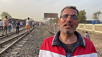 Egypt: Dozens of people injured after train derails north of Cairo