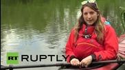 Може ли тази жена да прекоси най-дългата река в Европа с каяк и да влезе в историята?