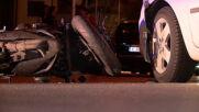 Мотоциклетист пострада при катастрофа в Благоевград
