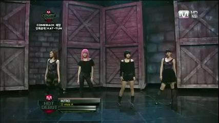 100701 Miss A - Bad Girl Good Girl Debut Stage
