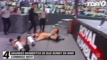 Top 10 Grandes Momentos de Bad Bunny en WWE: WWE Top 10, Abr 23, 2021