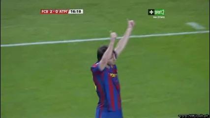 Fc Barcelona vs Atletico Madrid - 2 - 0 - Messi