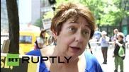Протест против американските медии в Ню Йорк