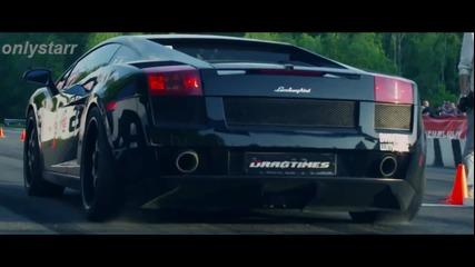 Звяр!! 393 km/h Lamborghini Gallardo