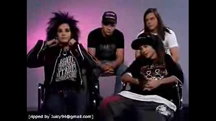 The 9 Sacred Tokio Hotel - Interview Rules..