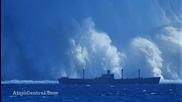 Огромна подводна ядрена експлозия