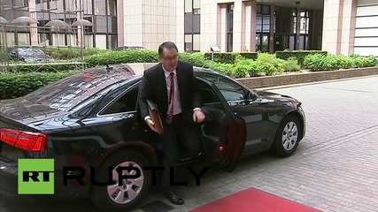 "Belgium: UK will be ""resolute and firm"" in negotiating EU reforms says Osborne"