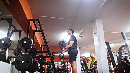 90 дневна трансформация | Изграждане на мускул, горене на мазнини | Ден 25 - Рамена, бицепс