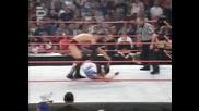 Скалата и Крис Джерико срещу Рвд и Шейн Макмеън 2001 Бг Аудио