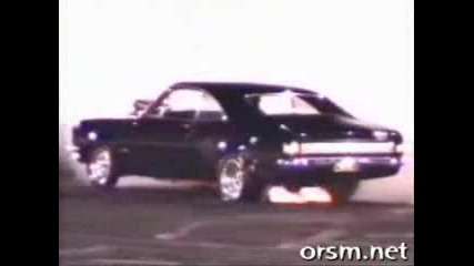 Monaro Burnout