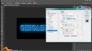 Как да си направим готин текст с Photoshop Cs6