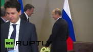 Turkey: Putin and Italian PM Renzi discuss 'successful' bilateral ties at the G20